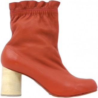 Rachel Comey \N Orange Leather Ankle boots