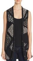 Nic+Zoe Crossfire Geometric Pattern Vest