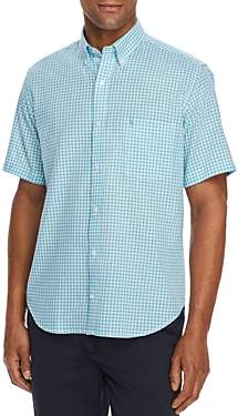 Tailorbyrd Kash Short-Sleeve Gingham Classic Fit Shirt