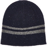 Barneys New York MEN'S STRIPED WOOL-BLEND BEANIE
