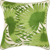 Nourison Royal Palm Palm Leaves Throw Pillow