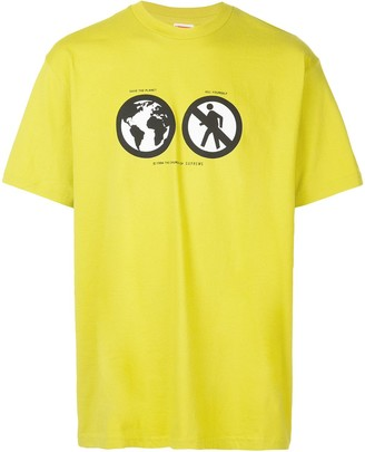 Supreme Save The Planet T-shirt