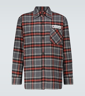 Acne Studios Salak checked flannel shirt
