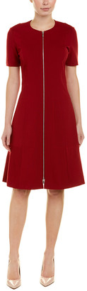 Lafayette 148 New York Zipper Shift Dress