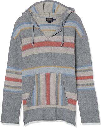 Pendleton Women's Striped Hoodie Cotton Sweater