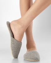 Soma Intimates Cashmere Slipper Grey