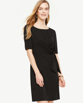 Ann Taylor Tied Matte Jersey Dress