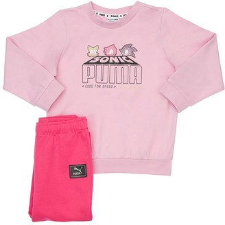 Puma Select Saga Cotton Sweatshirt & Sweatpants