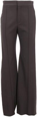 Chloé High Waisted Flared Trousers