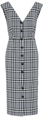 Veronica Beard Lark stretch cotton dress