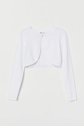 H&M Fine-knit cotton bolero