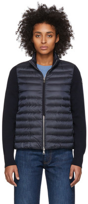 Moncler Navy Down Jacket