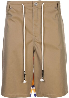Mostly Heard Rarely Seen Combination Drawstring Shorts