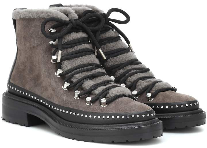 0fe4cf82c23 Compass suede ankle boots