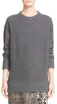 Jason Wu Cashmere & Wool Blend Textured Sweater