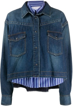 Sacai Layered Denim Jacket