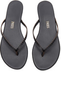 TKEES Studio Sandal in Black. - size 10 (also in 5,6,7,8,9)