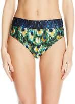 Gottex Women's Pavone Wide Band Bikini Bottom