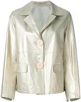 Sylvie Schimmel Diana jacket - women - Lamb Skin - 38