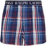 Polo Ralph Lauren Cotton Check Slim-Fit Boxers