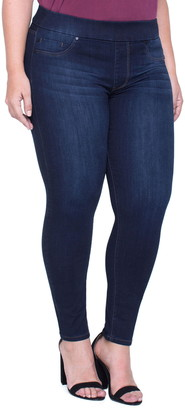Liverpool Jeans Co Sienna Pull-On Stretch Ankle Jeans