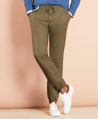 Brooks Brothers Cotton Ripstop Jogger Pants