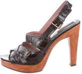 Derek Lam Slingback Platform Sandals