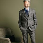Charles Tyrwhitt Grey slim fit Donegal tweed jacket
