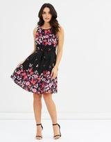 Wallis Trailing Butterfly Dress