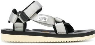 Suicoke Hook And Loop Straps Sandals