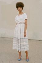 Mara Hoffman Paperbag Midi Skirt