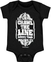 RockWaresUSA Johnny Cash Bodysuit Cash Crawl Infant Onesie (6-12 Months)