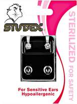 Studex Cubic Zirconia Sterilized Piercing Earrings Stainless Steel