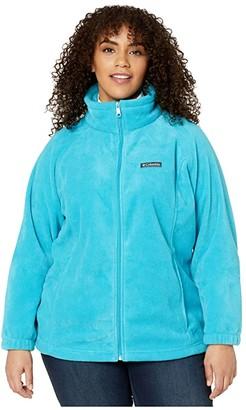 Columbia Plus Size Benton Springstm Full Zip (Fuchsia) Women's Coat