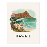 Rifle Paper Co. Rifle Paper Hawaii Poster - 28x35 cm