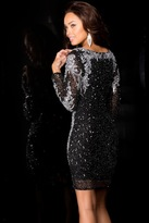 Scala Dress In Black/Silver 48645