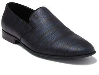 Badgley Mischka Phillip Striped Leather Loafer