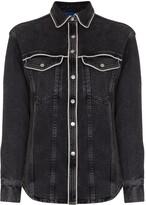 Simon Miller western-inspired denim shirt