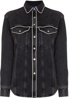 Simon Miller western-inspired denim shirt