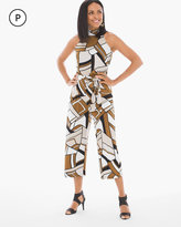 Chico's Groovy Swirls Jumpsuit