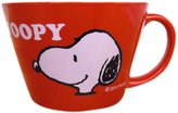 Maruhi Hida pottery SNOOPY OVENWARE SERIES (RED) Snoopy oven soup cup SNG-50R-1P (Japan import / The package and the manual are written in Japanese)