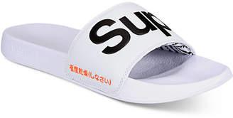 Superdry Men Pool Slide Sandals Men Shoes