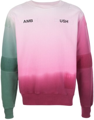 Ambush Logo-Print Ombre Sweatshirt