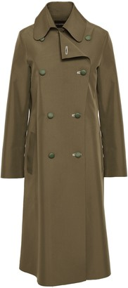 Emporio Armani Double-breasted Shell Trench Coat