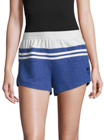 Wildfox Couture Blocked Golden Terry Short