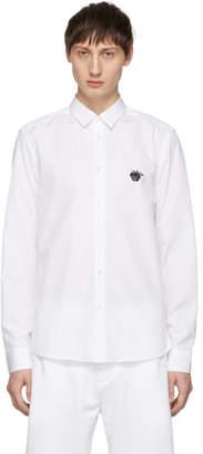 Kenzo White Rose Shirt