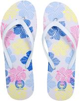 White Flower Flip-Flop - Women