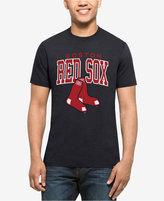 '47 Men's Boston Red Sox Splitter Blockhouse T-Shirt