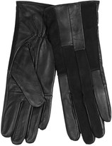 Auclair Patchy Leather Gloves - Fleece Lined (For Women)