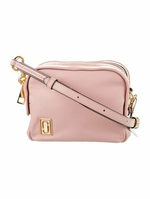 Marc Jacobs Leather Crossbody Bag w/ Tags Pink